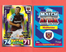 West Ham United Mark Noble 376 Set Piece Specialist
